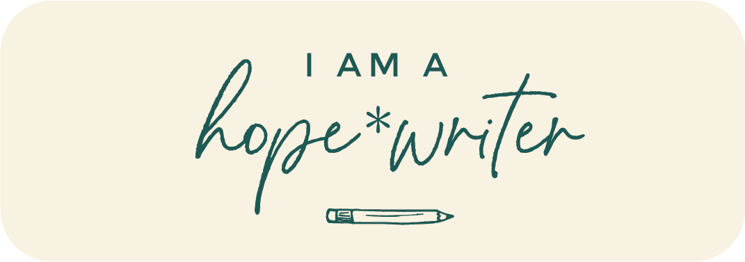 I'm a Hope Writer
